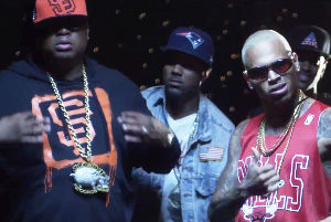 E-40 ft. Young Jeezy, Chris Brown, French Montana, Red Cafe & Problem - Function (Remix)