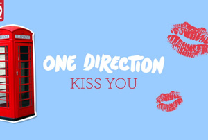One Direction - Kiss You [Lyric Video]