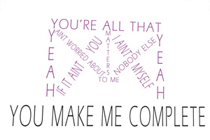Justin Bieber - All That Matters [Lyric Video]