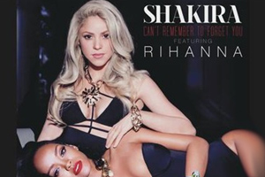Shakira ft. Rihanna - Can't Remember To Forget You [Audio]